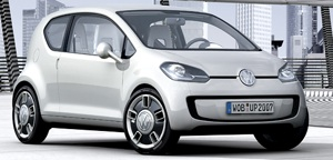 Volkswagen's Up! concept to receive electric treatment.