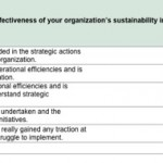 sustainability effectiveness