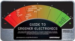 HP Knocks Nokia from Lead in Greenpeace Electronics Guide