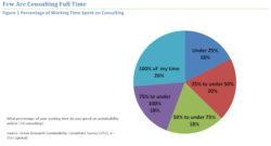 Only 26% of Sustainability Consultants Work Full Time on Green Issues