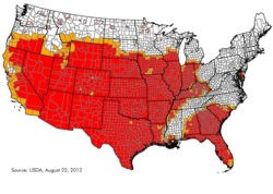 Policy & Enforcement Briefing: US Drought, Biofuel Refinery, SEC Disclosure, Green Climate Fund
