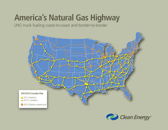 natural gas map