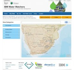 IBM Mobile App to Help Solve Water Challenges
