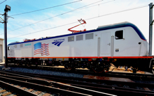 Amtrak advanced technology electric locomotive