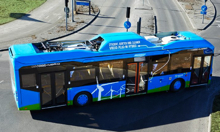 Volvo plug-in hybrid bus