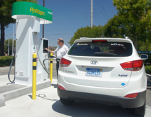 hydrogen fuel cell station