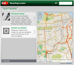 Web Tool Identifies Commercial Building Products Recycling Options
