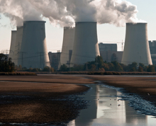 Coal plant and water
