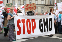 gmo protest in poland via shutterstock