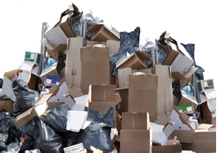 packaging and paper waste