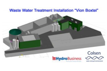 Colsen Wastewater treatment at Voin