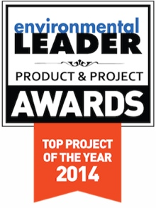 project of the year badge