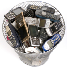 cell phone waste