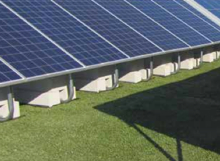 Closureturf solar