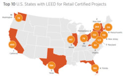 LEED Retail Participants on the Rise