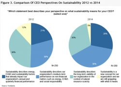 Sustainability Leaders' Influence Growing