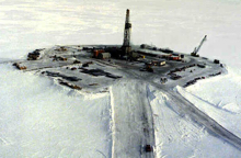 Arctic oil drilling