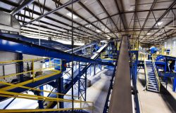Momentum Opens Bottle-to-Bottle Glass Recycling Plant, Waste Pro Opens MRF