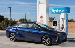 Toyota Bets Big on Hydrogen Fleets