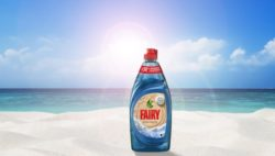 P&G Touts Ocean Plastic Initiative with Fairy Bottles Plucked from Beaches