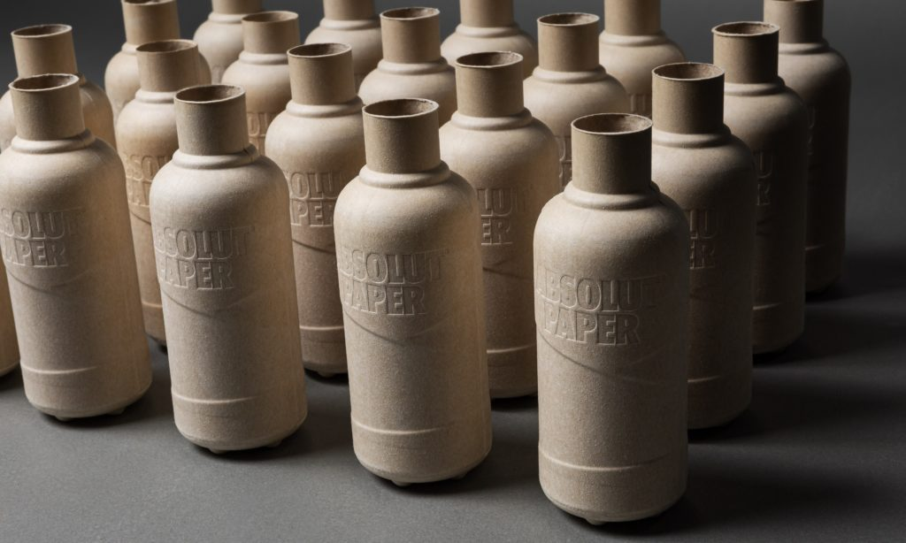 Absolut Rolls Out 2,000 Paper Bottle Prototypes